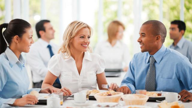 Pranzi o cene di lavoro?